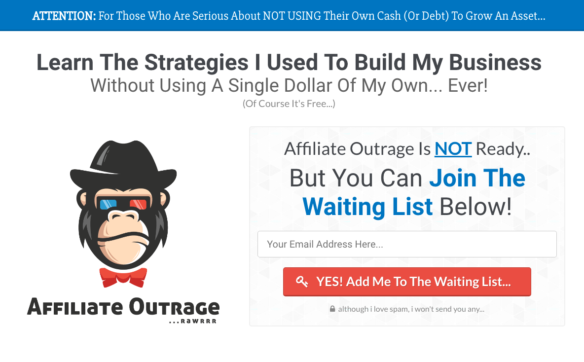 Affiliate Outrage