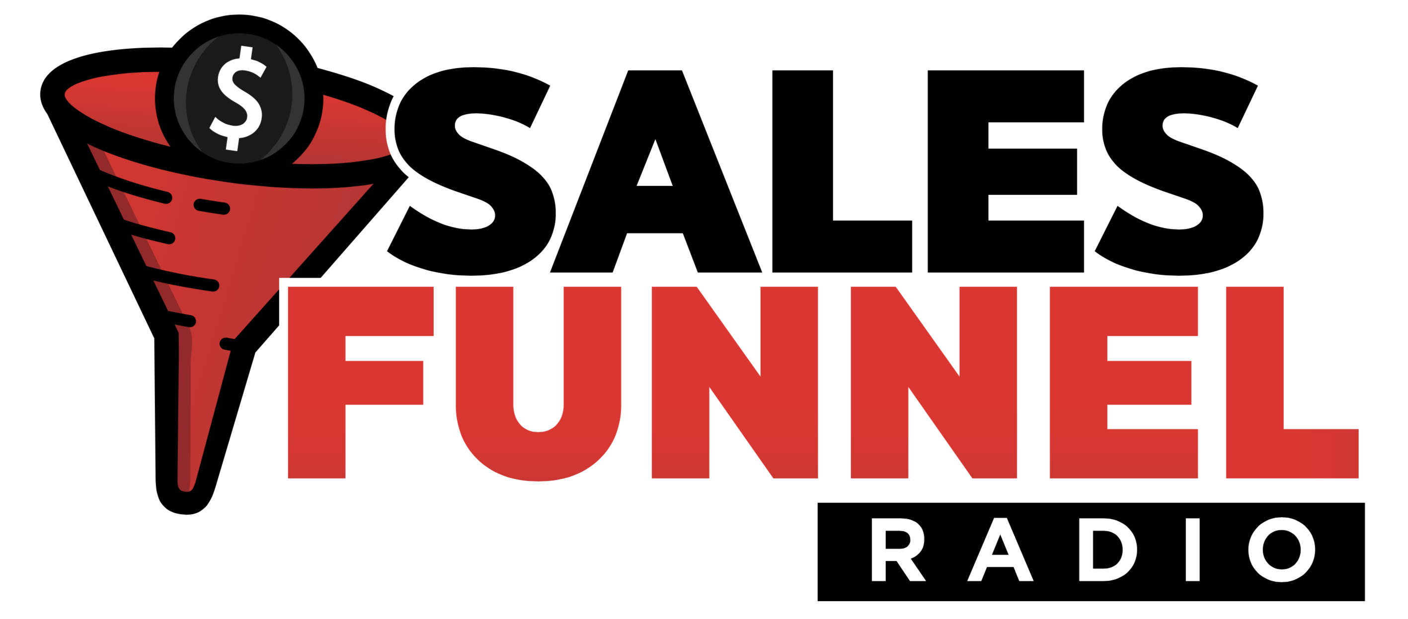Sales Funnel Radio Logo