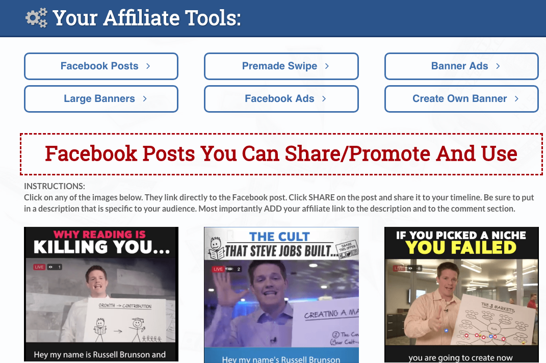 Your Affiliate Tools