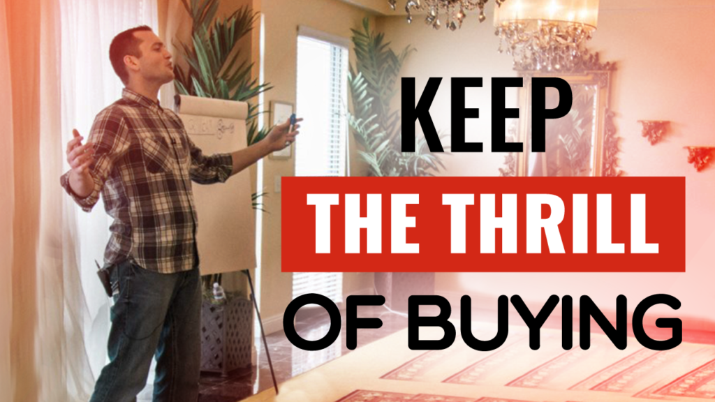 Keep the Thrill of Buying