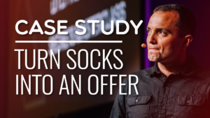 SFR 180: Case Study – Turn Socks Into An Offer