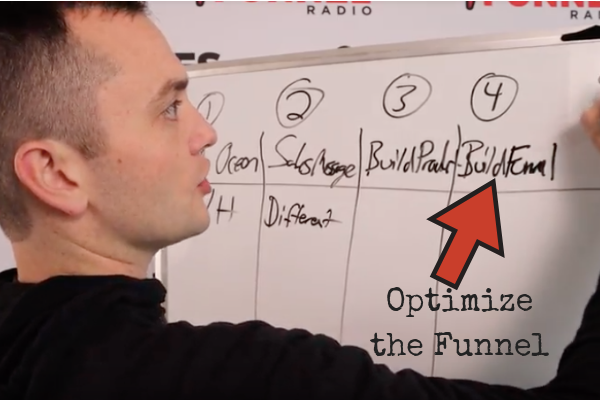 optimize the funnel