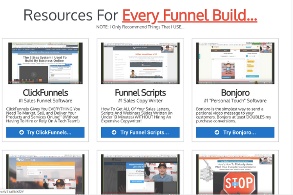resources for every funnel build