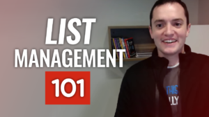 SFR 208 List Management 101
