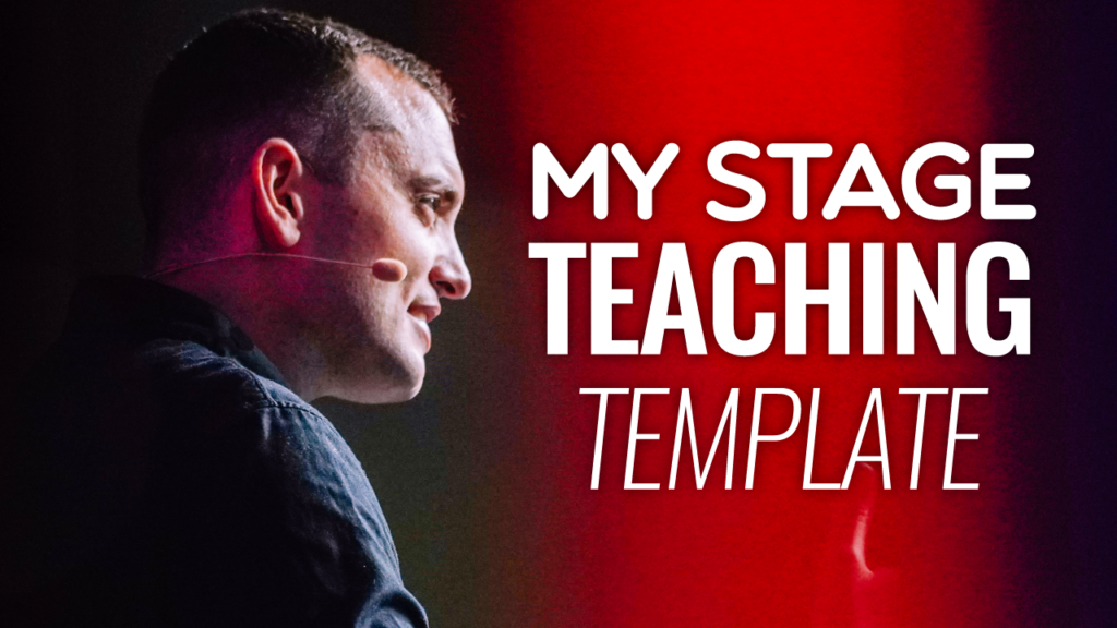 SFR 209 My Stage Teaching Template