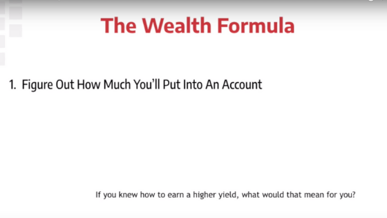 Wealth formula investment management