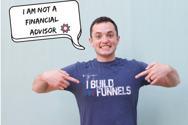 Service business not a financial advisor