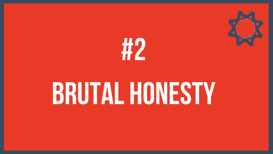 How to stay focused - Brutal honesty