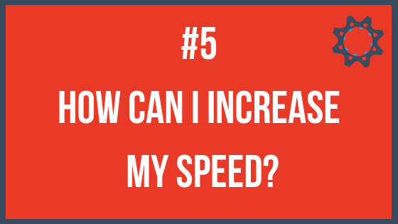 How to stay focused - Increase your speed