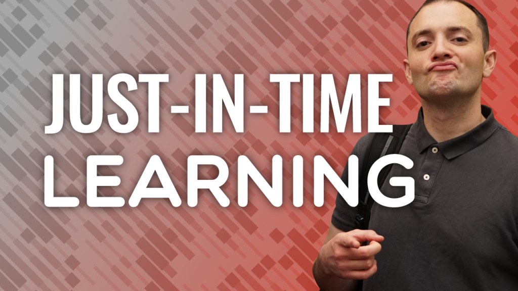 SFR 229 Just-In-Time Learning