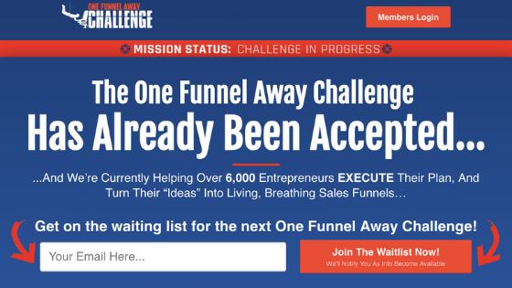 Steve Larsen One Funnel Away Challenge