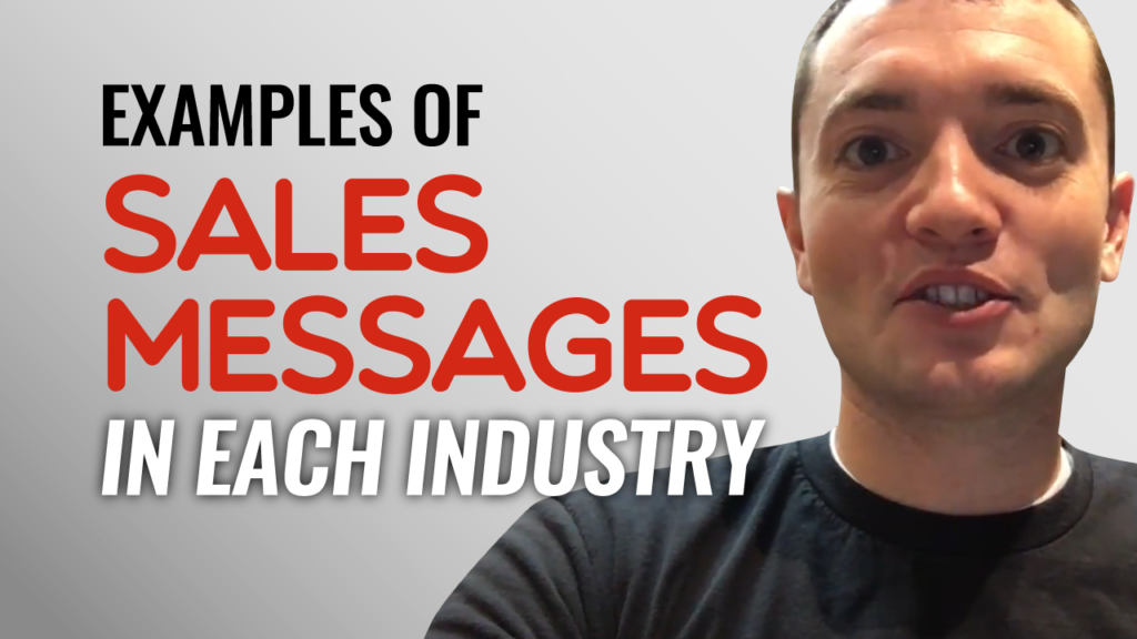 SFR 236 Examples Of Sales Messages In Each Industry