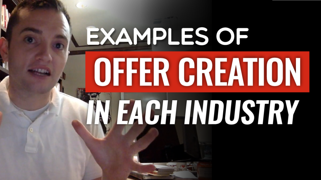 SFR 237 Examples Of Offer Creation In Each Industry