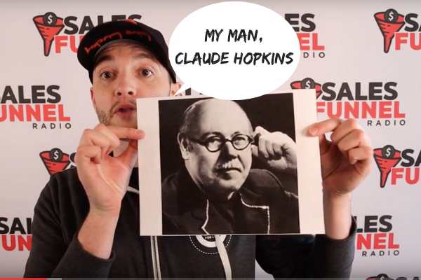 Claude Hopkins event promotion