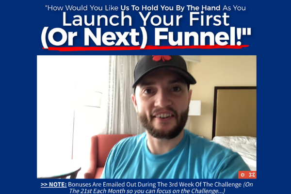 One Funnel Away marketing strategy