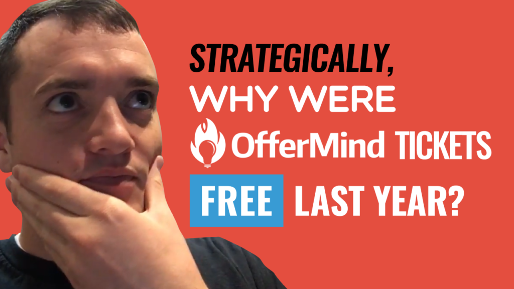 SFR 242 Strategically, Why Were OfferMind Tickets Free Last Year?