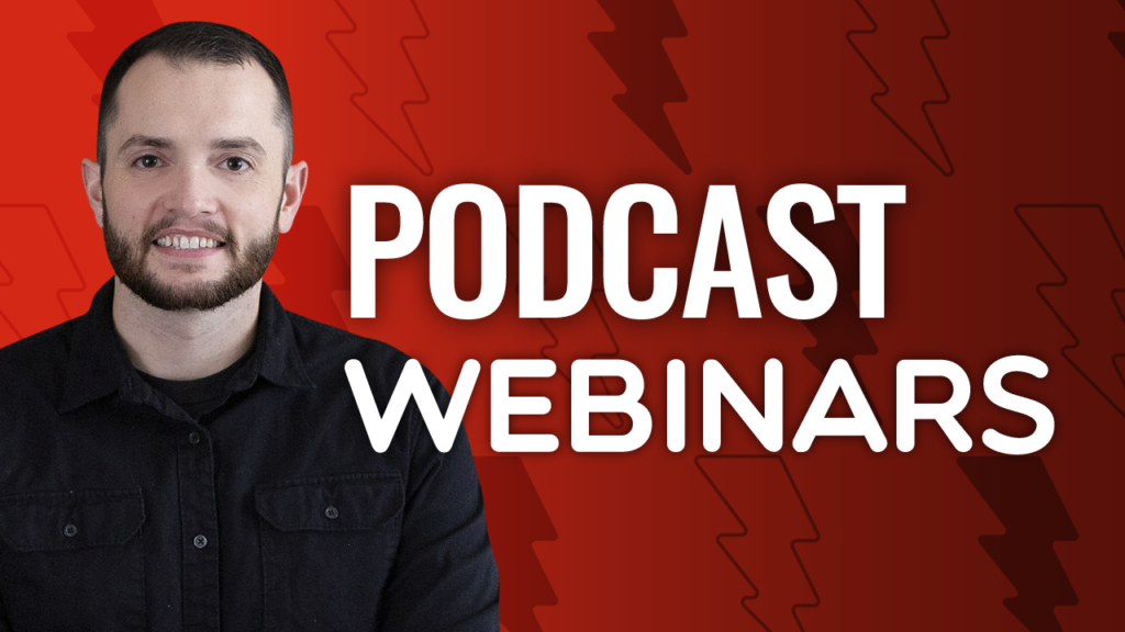 SFR 245 Podcast Webinars