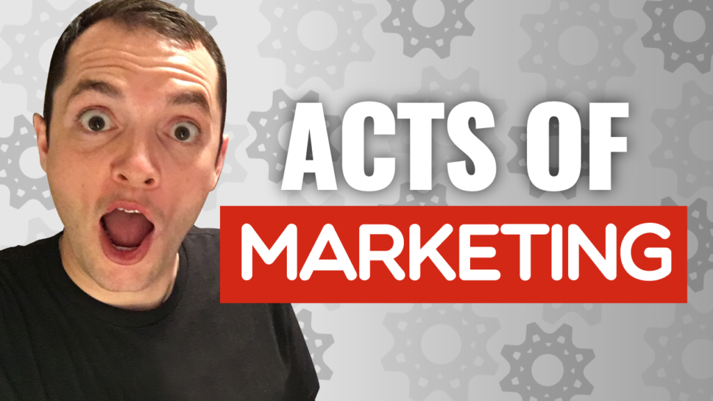 SFR 247 Acts Of Marketing