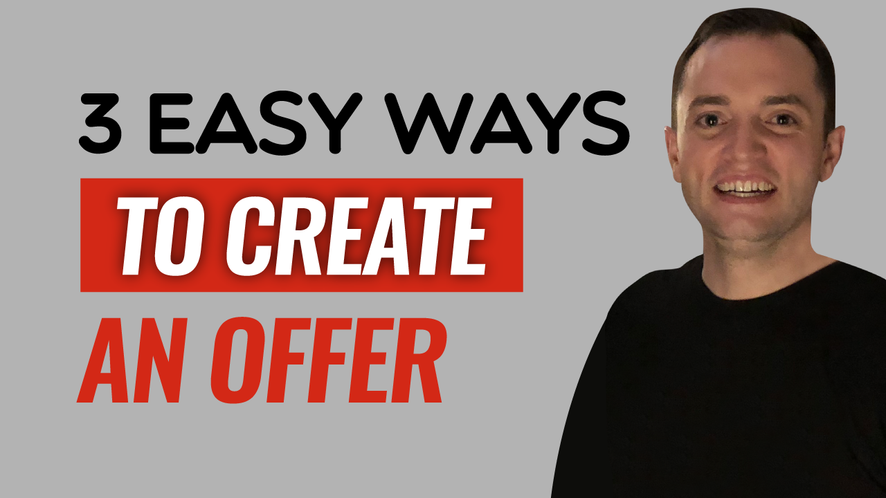 SFR 251 3 Easy Ways To Create An Offer