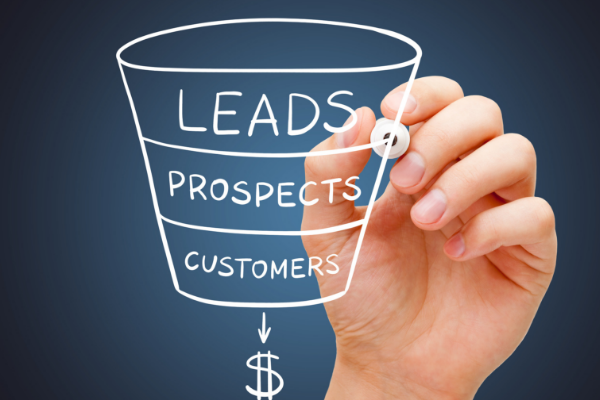 Starting a business sales funnel