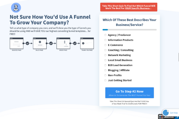 ClickFunnels self publishing