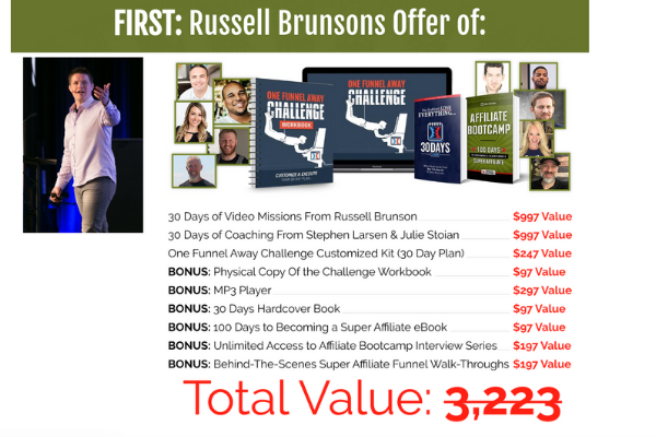 Russel Brunson book writing advice