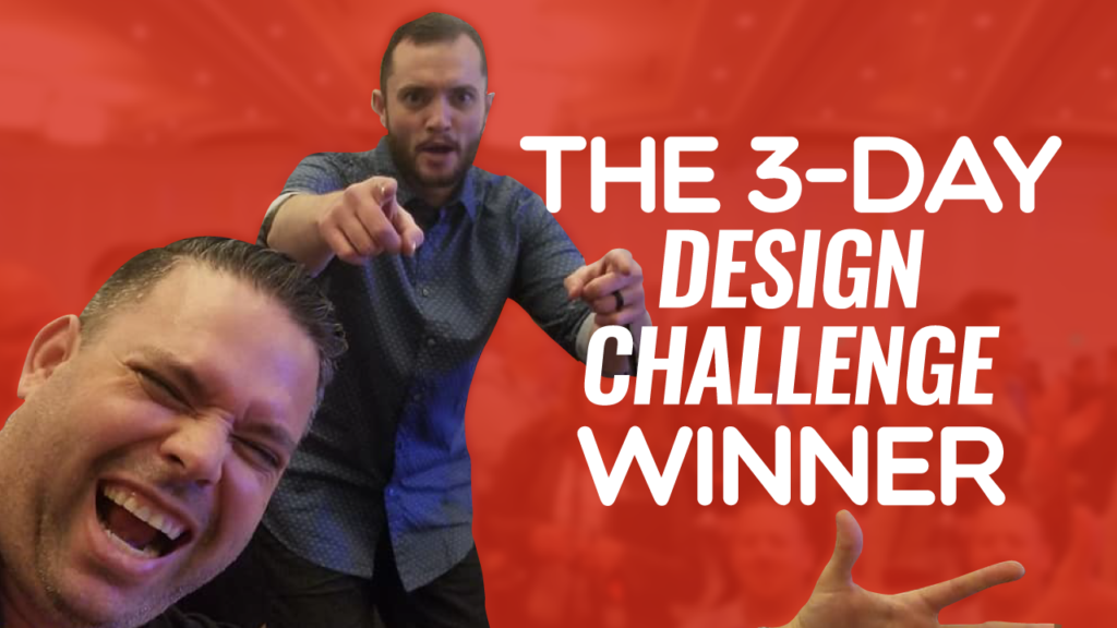 SFR 262 The 3 Day Design Challenge Winner
