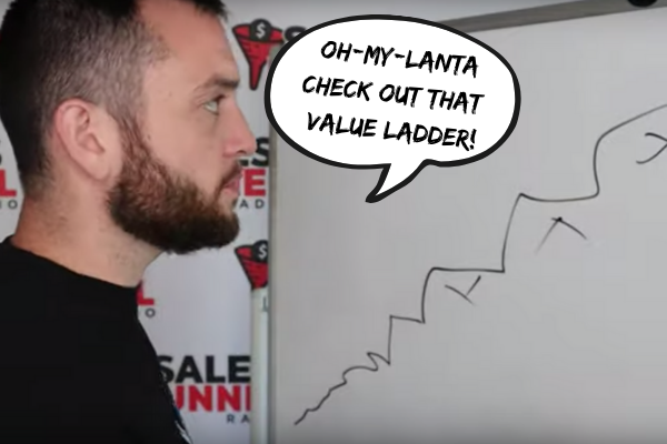 Steve Larsen first value ladder
