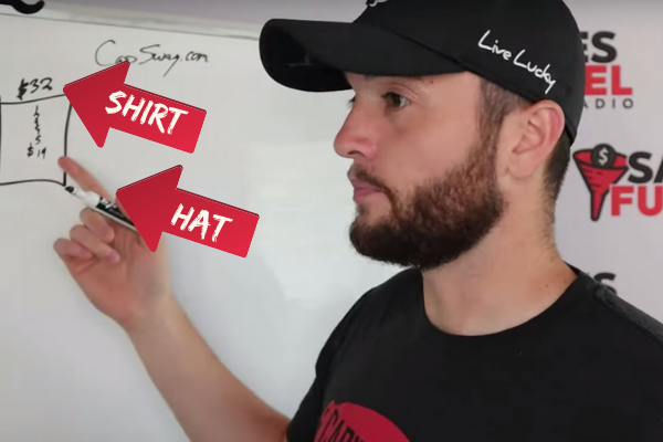 Capitalism swag hat
