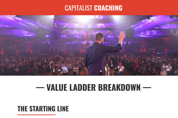 Capitalist Coaching how to be a marketer