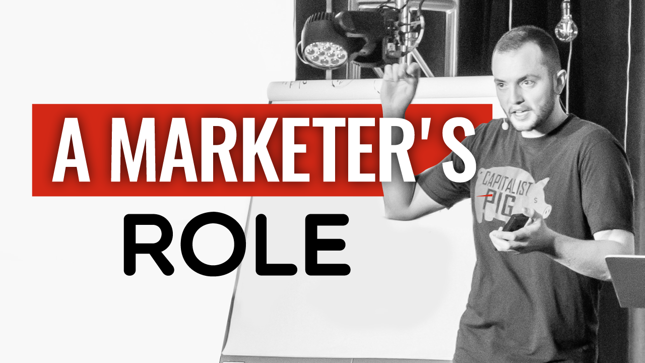 SFR 274 A Marketers Role