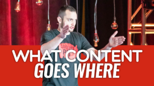 SFR 275 What Content Goes Where