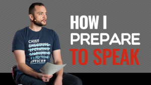 SFR 277 How I Prepare To Speak