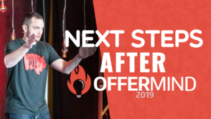 SFR 280 Next Steps After OfferMind 2019