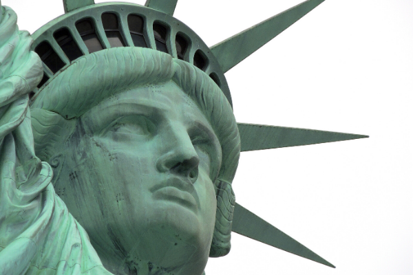 How to create ads at the Statue of Liberty