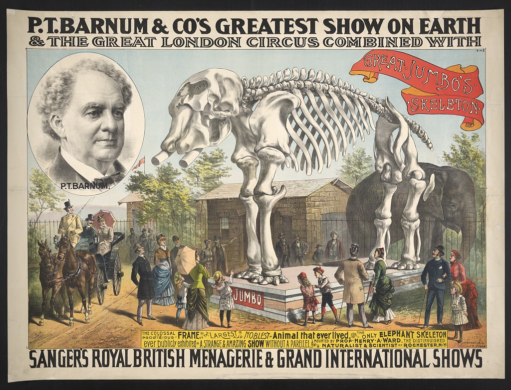 PT Barnum marketing history
