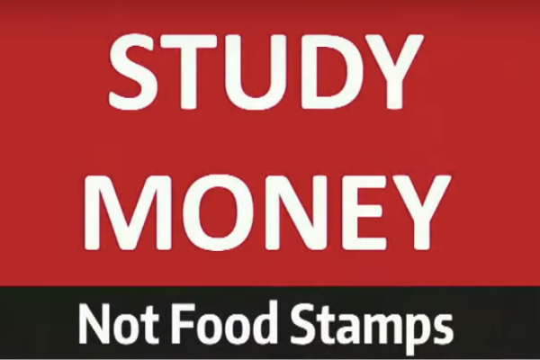 The study of money not food stamps