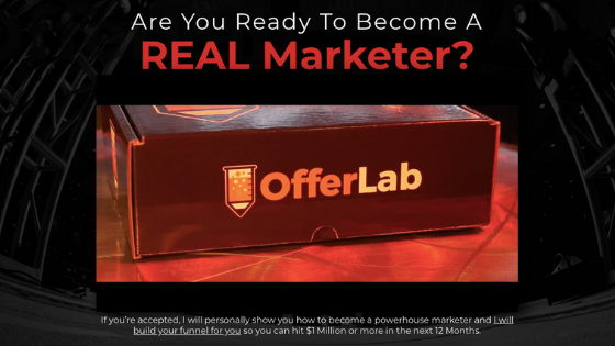 Offer creation OfferLab