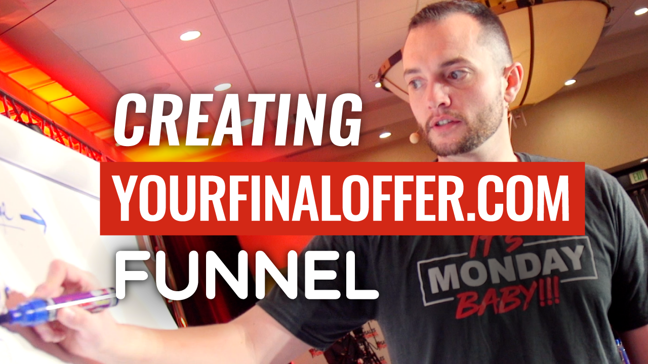 SFR 300 Creating YourFinalOffer.com Funnel